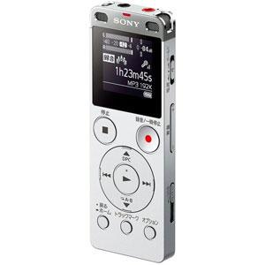 ICD-UX560FSC ソニー リニアPCM対応ICレコーダー4GBメモリ内蔵+外部マイクロSDスロット搭載(シルバー) SONY