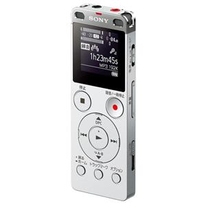 ICD-UX565FSC ソニー リニアPCM対応ICレコーダー8GBメモリ内蔵+外部マイクロSDスロット搭載(シルバー) SONY