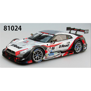 1/18 S Road MOLA GT-R SUPER GT500 2015 Rd.3 Thailand Winner No.46【81024】 EBBRO