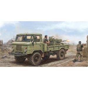 1/35 GAZ-66 軍用トラック2型【01017】 トランペッター