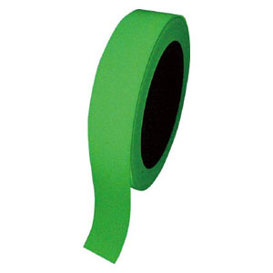 72004 日本緑十字社 高輝度蓄光テープ 屋内用 PET 幅25mm×長さ10m(グリーン)1巻