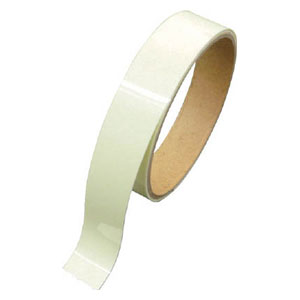 72005 日本緑十字社 高輝度蓄光テープ 屋内用 PET 幅50mm×長さ10m(グリーン)1巻