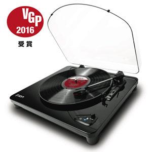 Air LP(IA-TTS-019) アイオン Bluetooth出力付きアナログプレーヤー(ピアノフィニッシュ) ION Audio