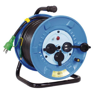 NPWE33 日動工業 電工ドラム 防雨防塵型100Vドラム アース付 30m