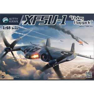 1/48 XF-5U フライングパンケーキ【KH80135】 キティホークモデル