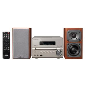 XK-330-N ケンウッド Bluetooth搭載ハイレゾ対応ミニコンポ(ゴールド) KENWOOD Compact Hi-Fi System XK-330