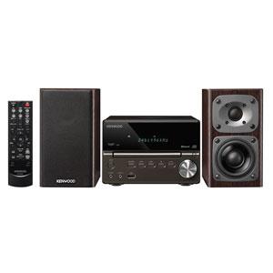 XK-330-B ケンウッド Bluetooth搭載ハイレゾ対応ミニコンポ(ブラック) KENWOOD Compact Hi-Fi System XK-330