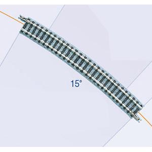 鉄道模型 トミックス 送料無料お手入れ要らず Nゲージ 1853 F 4本セット ファイントラック カーブレールC541-15 激安超特価