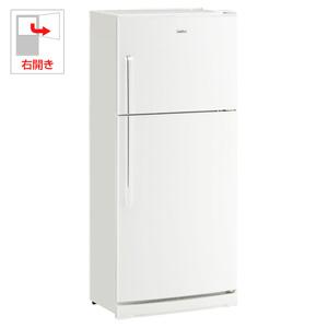 (標準設置料込)JR-NF445B-W ハイアール 445L 2ドア冷蔵庫(ホワイト)【右開き】 Haier