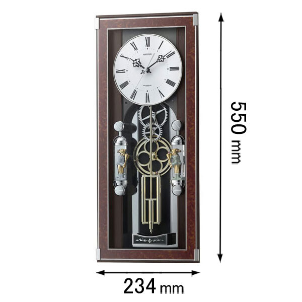 【エントリーでP5倍 8/9 1:59迄】ソフィアーレプリモ リズム時計 からくり時計 4MN535SR23 [ソフイアレプリモ]【返品種別A】