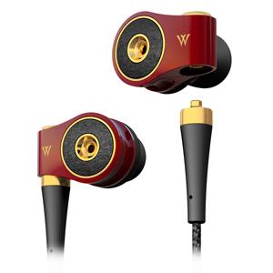 HP-TWF41R ラディウス ハイレゾ対応カナルイヤホン(ヌメロキャトル ルージュ) radius Dual Diaphragm Matrix In-ear Headphones