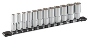 HSL312 TONE ディープソケットセット(6角・ホルダー付)12点 差込角9.5mm