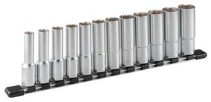 HSL412 TONE ディープソケットセット(6角・ホルダー付)12点 差込角12.7mm