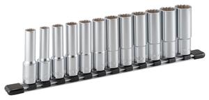 HDL412 TONE ディープソケットセット(12角・ホルダー付)12点 差込角12.7mm