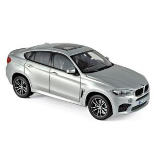 1/18 BMW X6 M 2016 シルバー【183200】 ノレブ