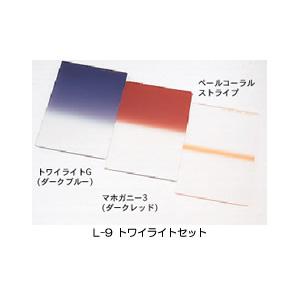 LEE L-9 LEE 100×150mm角 フィルターオリジナル3枚セット(トワイライトセット L-9)