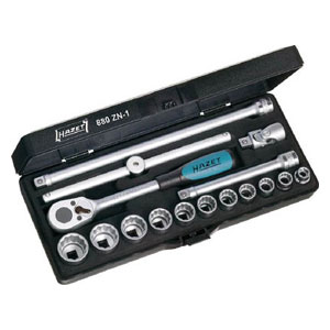 880ZN1 HAZET ソケットレンチセット(12角タイプ・差込角9.5mm)