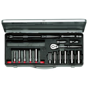 TB3L11X 京都機械工具 9.5sq.ディープソケットレンチセット[17点] KTC