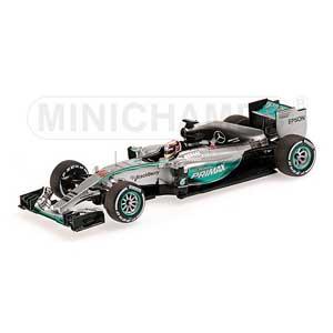 1/43 メルセデス AMG ペトロナス F1チーム W06 ハイブリッド L .ハミルトン マレーシアGP 2015(スペシャルVer)【417150044】 ミニチャンプス