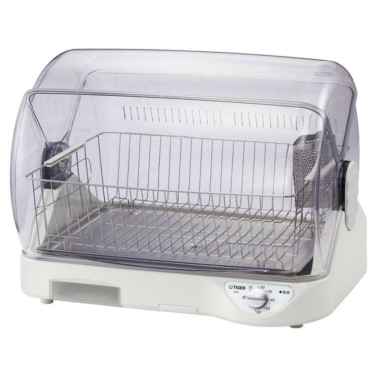 DHG-S400 タイガー 食器乾燥器 ハイクオリティ 予約販売 ホワイト サラピッカ 温風式 DHGS400 TIGER