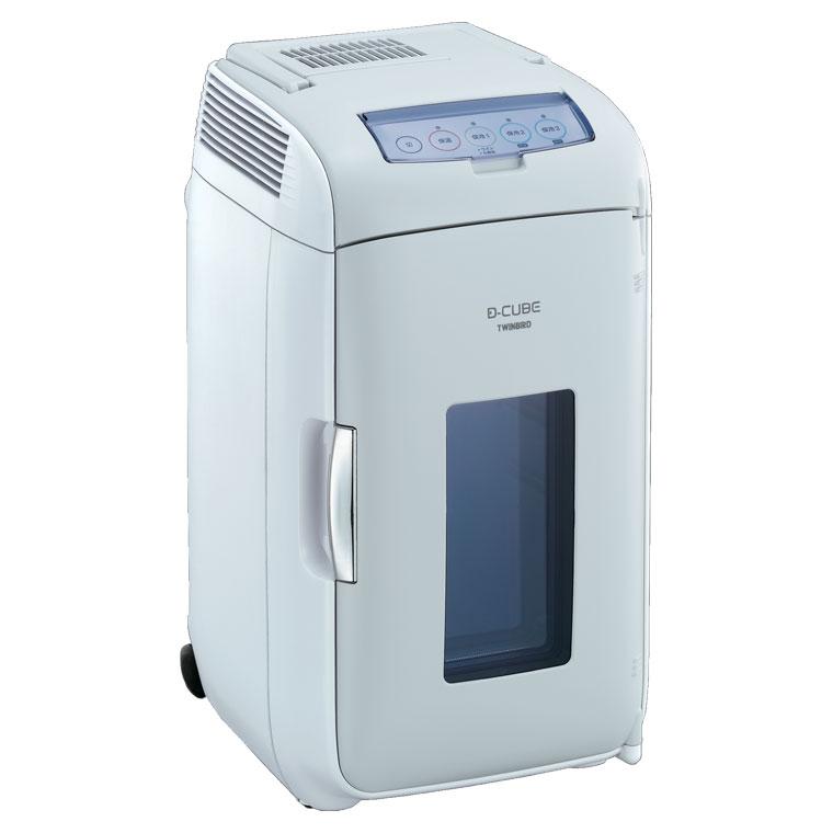 HR-DB07GY ツインバード 13L 2電源式ポータブル電子適温ボックス(グレー) TWINBIRD D-CUBE L