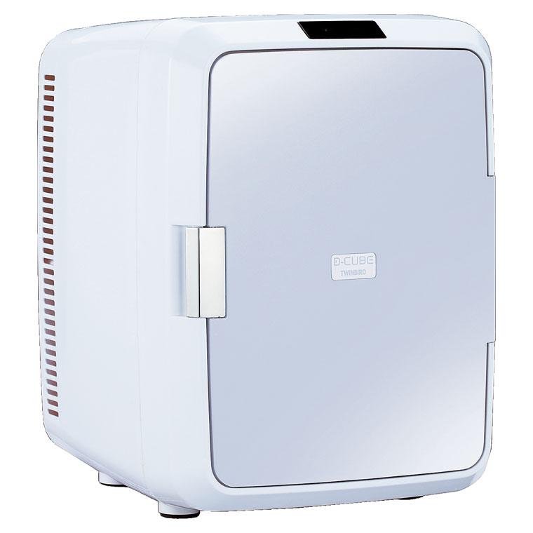 HR-DB08GY ツインバード 20L 2電源式コンパクト電子保冷保温ボックス TWINBIRD D-CUBE X