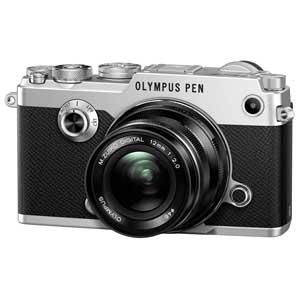 PEN-F 12MMF2.0LK SLV オリンパス デジタル一眼カメラ「PEN-F」12mmF2.0 レンズキット(シルバー)