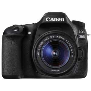 EOS80D1855ISSTMLK キヤノン デジタル一眼レフカメラ「EOS 80D」EF-S18-55 IS STMレンズキット