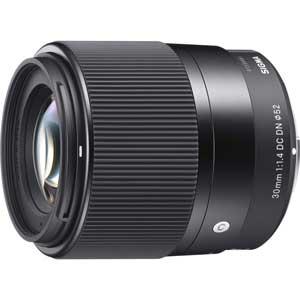 30MM_F1.4DC_DN_C_SE シグマ 30mm F1.4 DC DN ※ソニーEマウント用レンズ(APS-Cサイズミラーレス用)