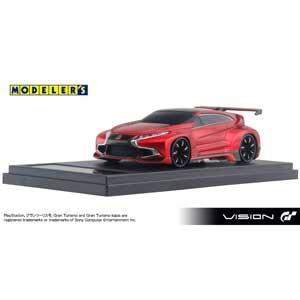 1/43 Mitsubishi Concept XR-PHEV EVOLUTION Vision Gran Turismo RED【MD43008RE】 モデラーズ