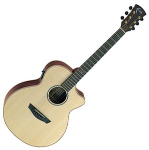 FVHG Venus Cut/Electro フェイス エレクトリックアコースティックギター(ナチュラル) FAITH HI-GLOSS SERIES