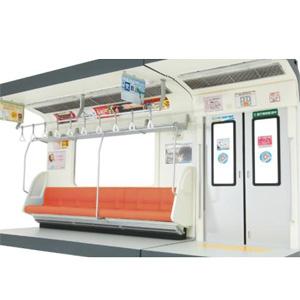 [鉄道模型]トミーテック 内装模型 通勤電車 (オレンジ色シート)