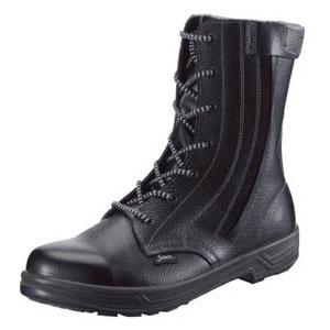 SS33C25.5 シモン 安全靴 長編上靴 SS33C付 25.5cm