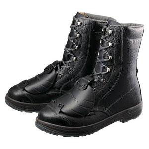 SS33D626.0 シモン 安全靴甲プロ付 長編上靴 SS33D-6 26.0cm