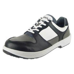 8512BKGR25.5 シモン トリセオシリーズ 短靴 黒/グレー 25.5cm