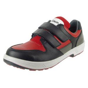 8518REDBK26.0 シモン トリセオシリーズ 短靴 赤/黒 26.0cm
