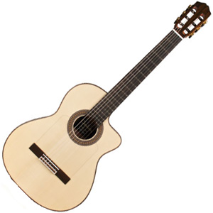 55FCE NEGRA コルドバ エレガットギター CORDOBA ESPANA SERIES