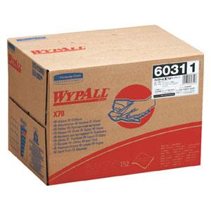 60311 日本製紙クレシア ワイプオールX70 ポップアップ(1ケース 152枚×4BOX)