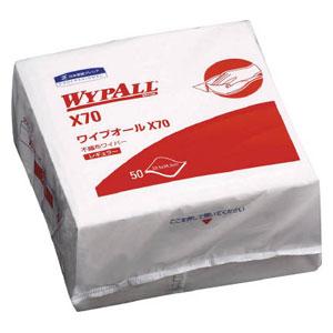 60570 日本製紙クレシア ワイプオールX70 4つ折り(1ケース 50枚×18パック)