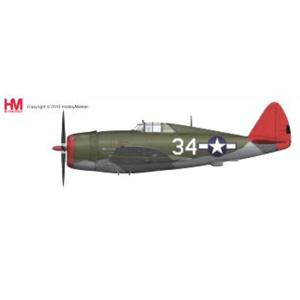 """1/48 P-47D サンダーボルト レイザーバック """"タスキーギ""""【HA8454】 ホビーマスター"""