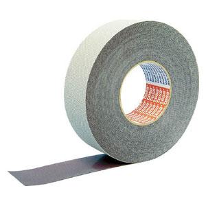4863PV350X25 テサテープ ストップテープ 4863(エンボス)PV3 幅50mm×長さ25m(グレー)1巻