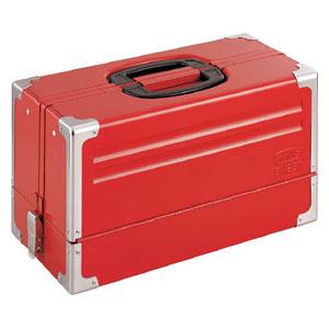 BX331 TONE ツールケース(メタル) V形3段式 433X220X240mm