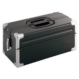 BX322BK TONE ツールケース(メタル) V形2段式 マットブラック