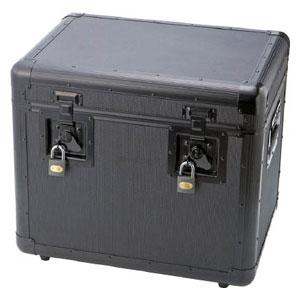 TAC480BK トラスコ中山 万能アルミ保管箱 黒 480X360X410