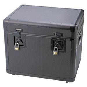 TAC540BK トラスコ中山 万能アルミ保管箱 黒 543X410X457