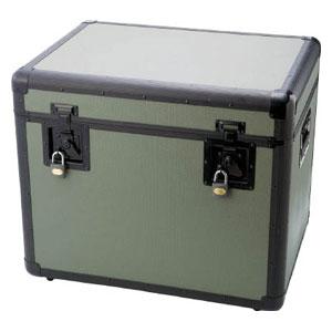 TAC610OD トラスコ中山 万能アルミ保管箱 オリーブドラブ 610X457X508