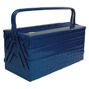 GT470B トラスコ中山 3段式工具箱 472X220X343 ブルー