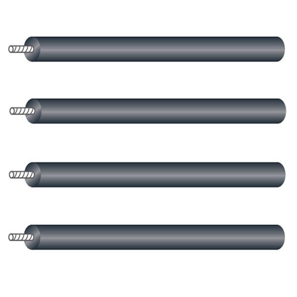 """CSR-P433 タオック 支柱セット4本1組(有効長:330mm) TAOC""""CSR シリーズ"""""""