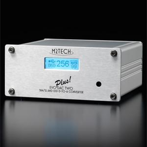 EVO-DAC-TWO-PLUS M2TECH D/Aコンバーター【入力:USB/COAX/OPT/I2S】 Evo DAC Two Plus