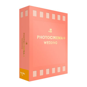 PhotoCinema+ Wedding Mac デジタルステージ